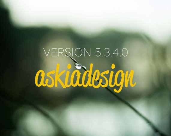 Askiadesign update 5.3.4.0