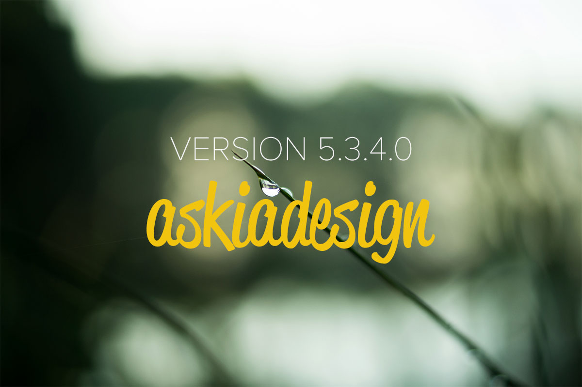 Askiadesign update 5.3.4.0