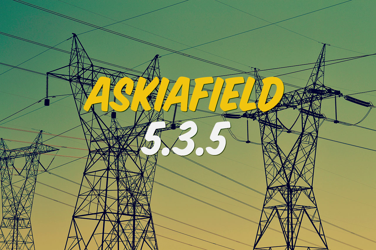 Askiafield updated to 5.3.5 header image