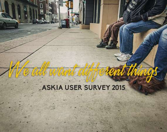 Askia User Survey 2015 header image