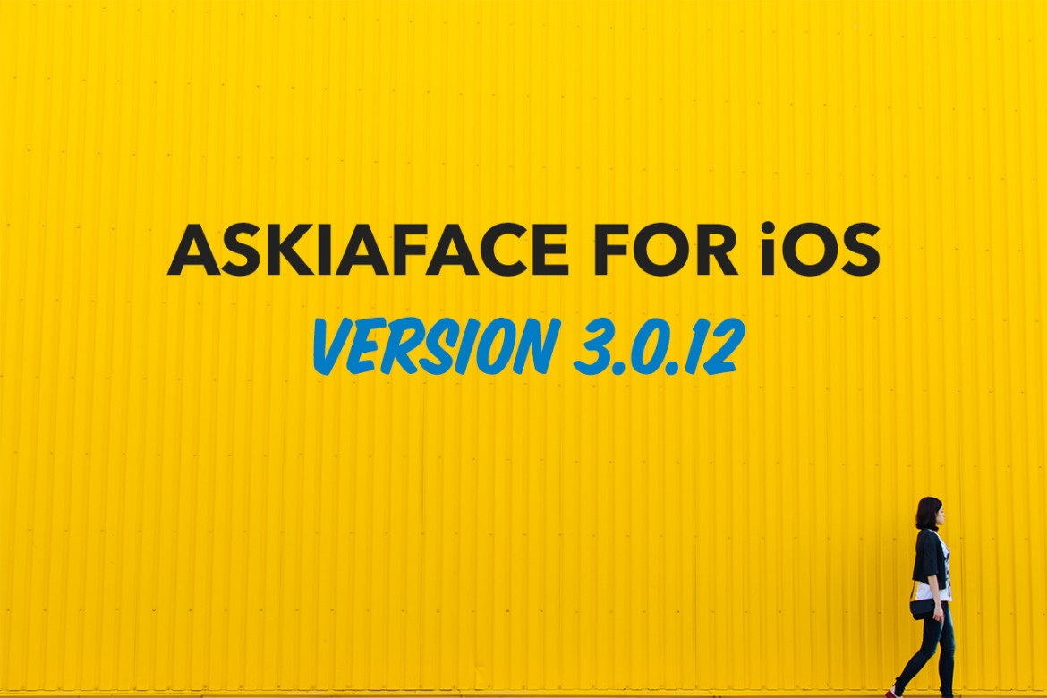Askiaface for iOS updated to version 3.0.12 header image