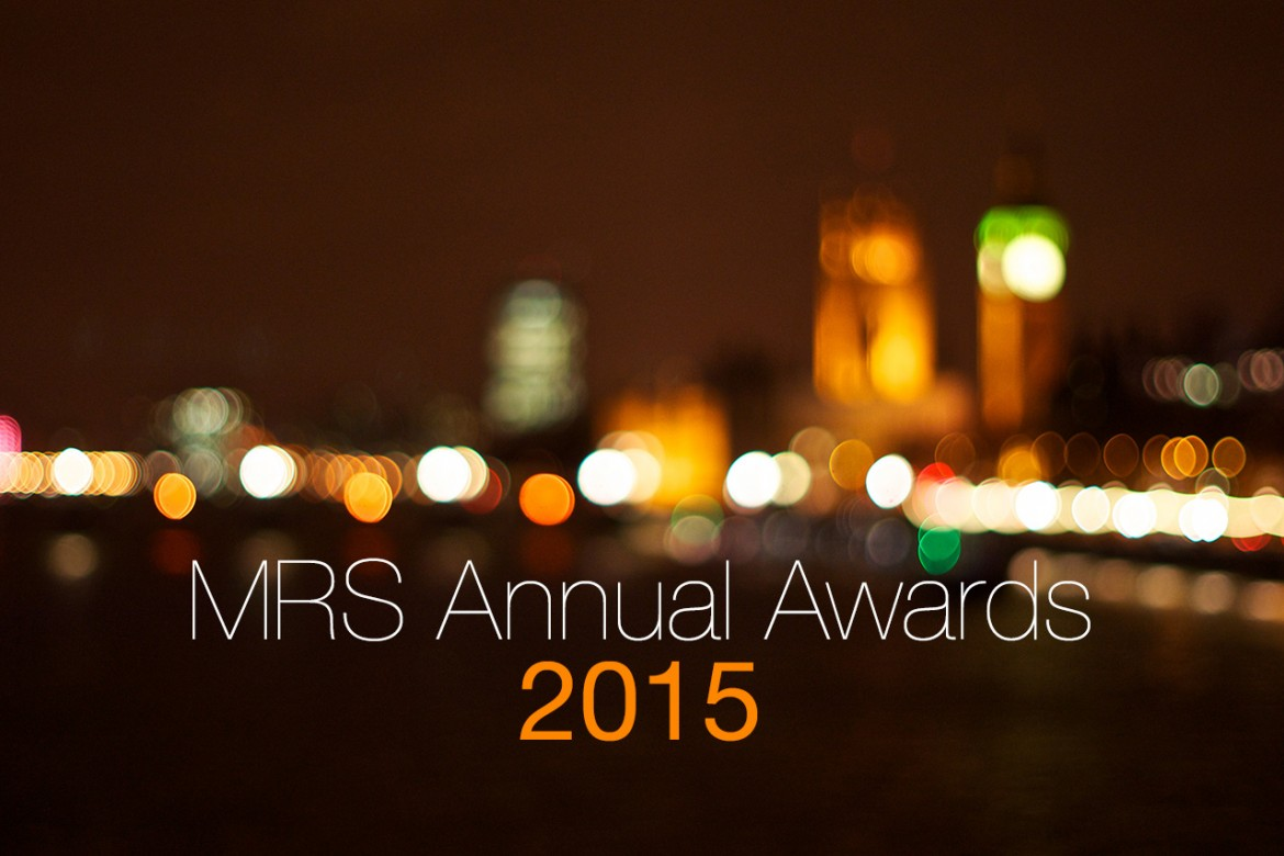 MRS Awards 2015 header image