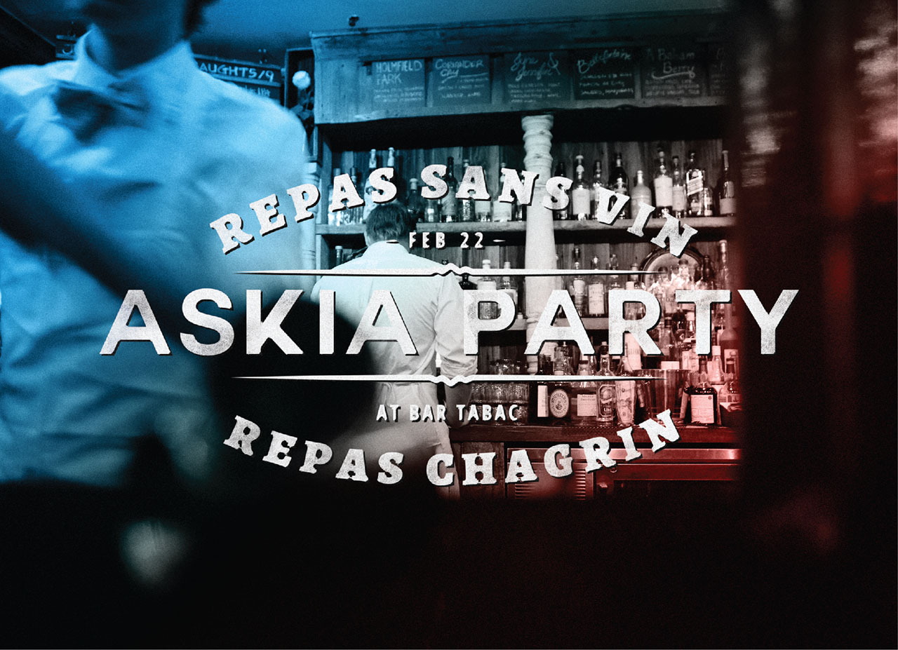 Askia party at Quirks Event header image