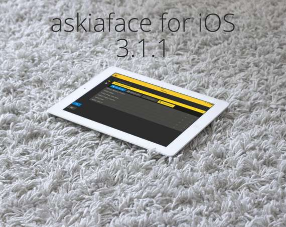 Askiaface for iOS 3.1.1 released header image