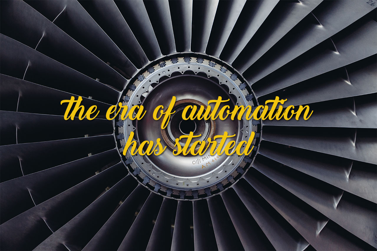 The Era Of Automation Has Started header image