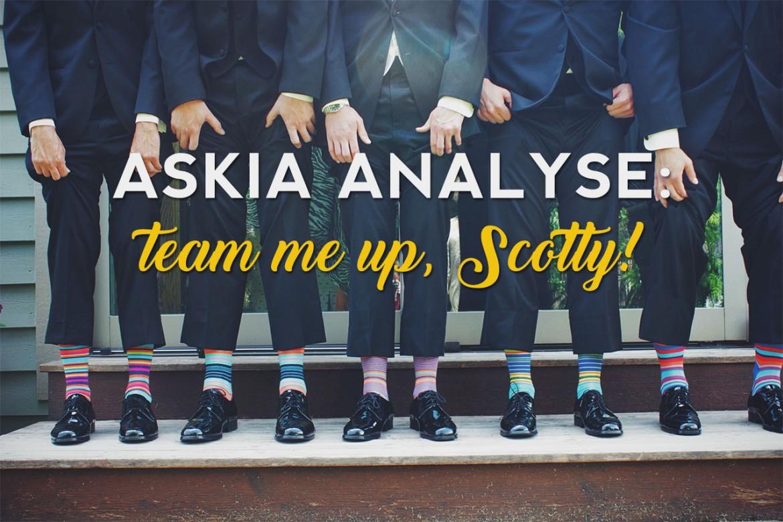 Askia Analyse team me up Scotty header
