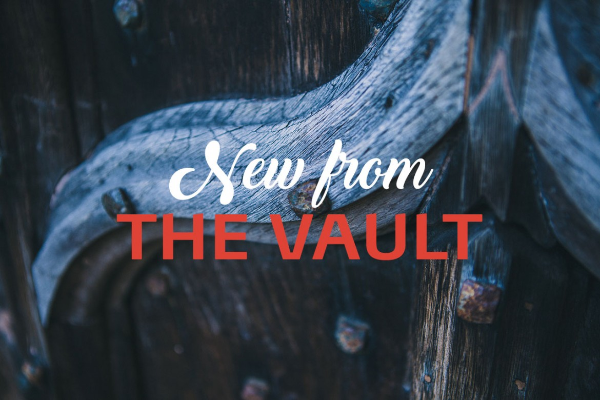 New from the vault header image