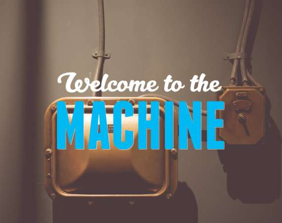Welcome to the machine header image