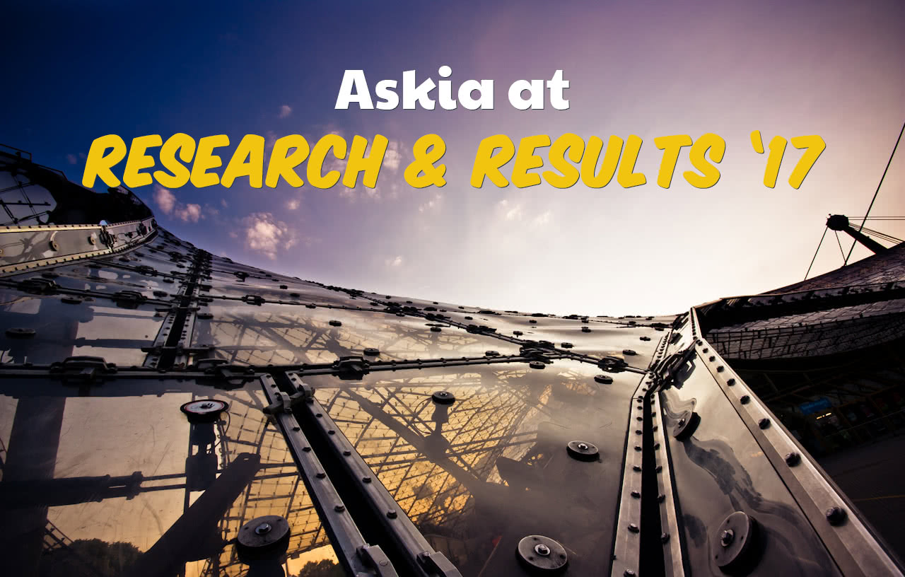 Askia at Research & Results 2017 header image