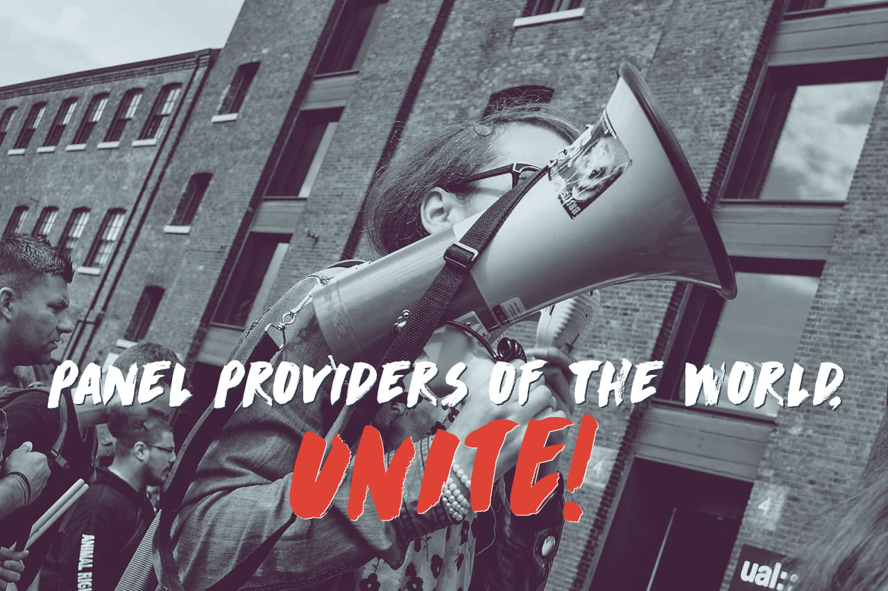 Panel providers of the world, unite header image