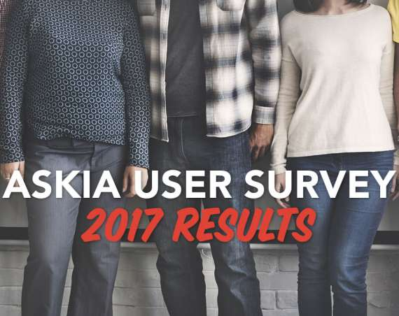 Askia User Survey 2017 results header image