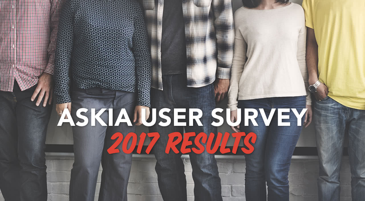 Askia User Survey 2017 results header image