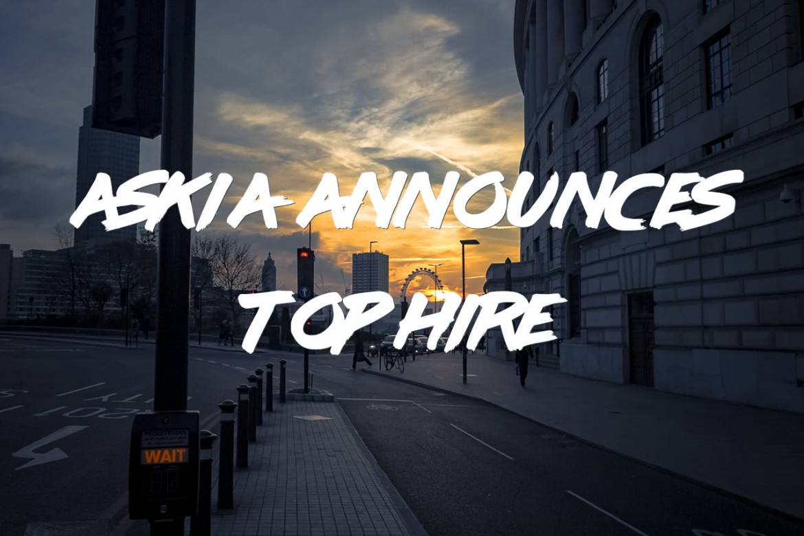 Askia announces top hire!