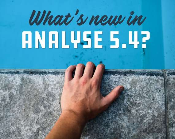 What's new in Analyse 5.4?