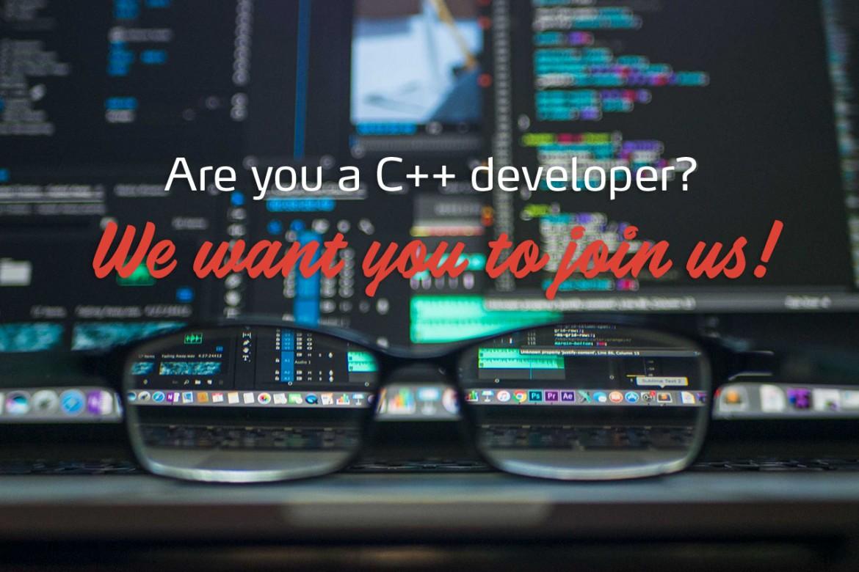 Hiring a new C++ developer in Paris