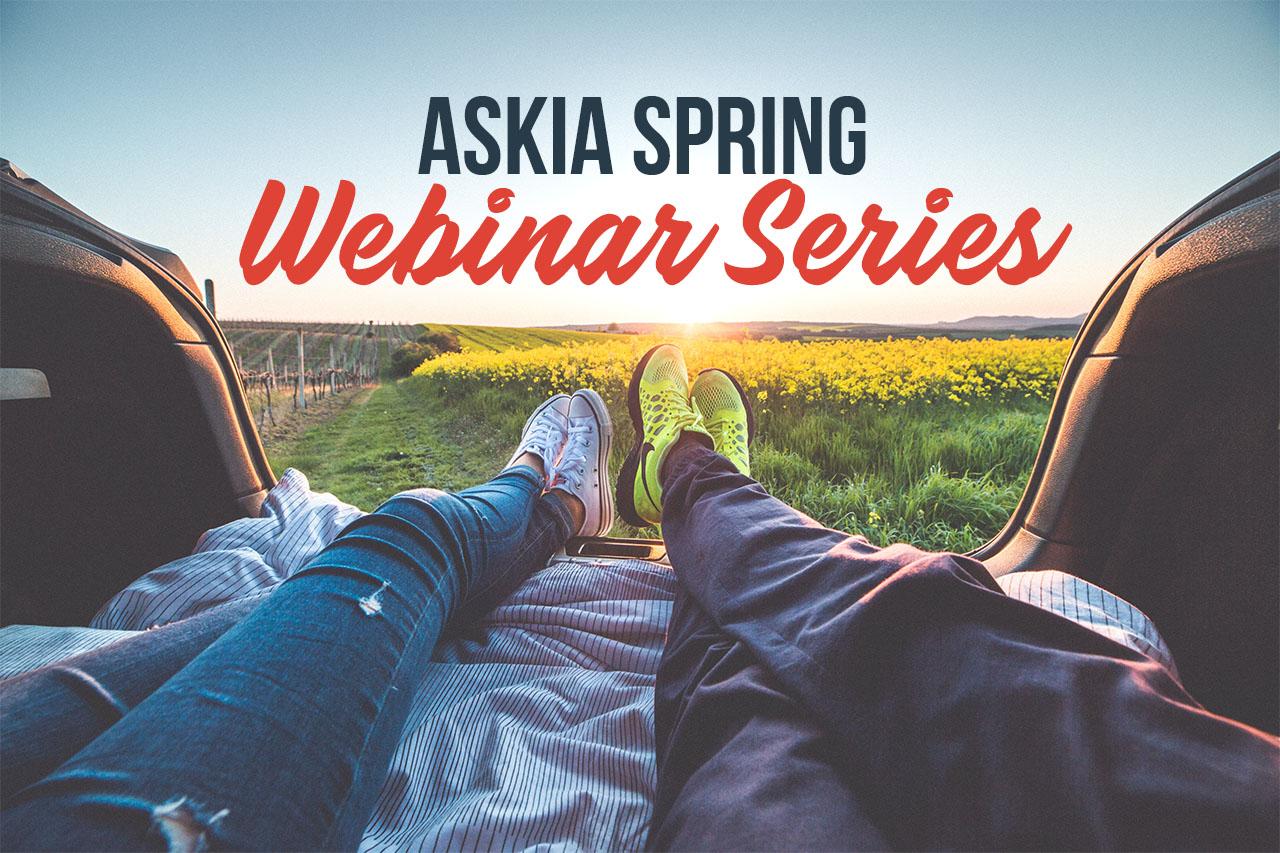 Askia spring webinar series header image