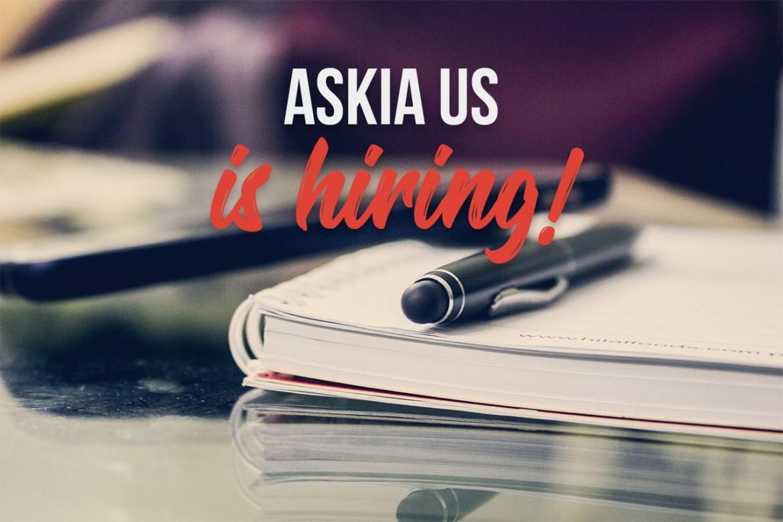 Askia US is hiring!