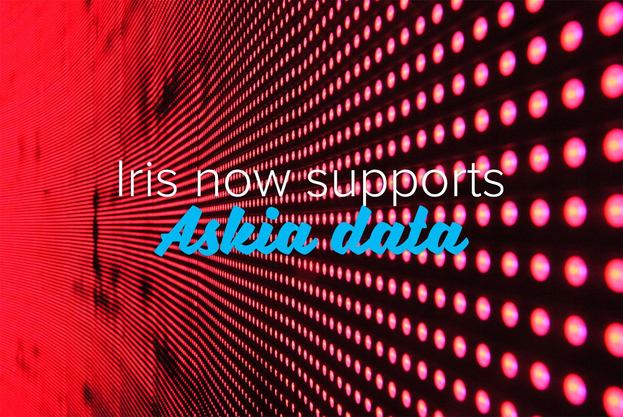 Iris now supports Askia data
