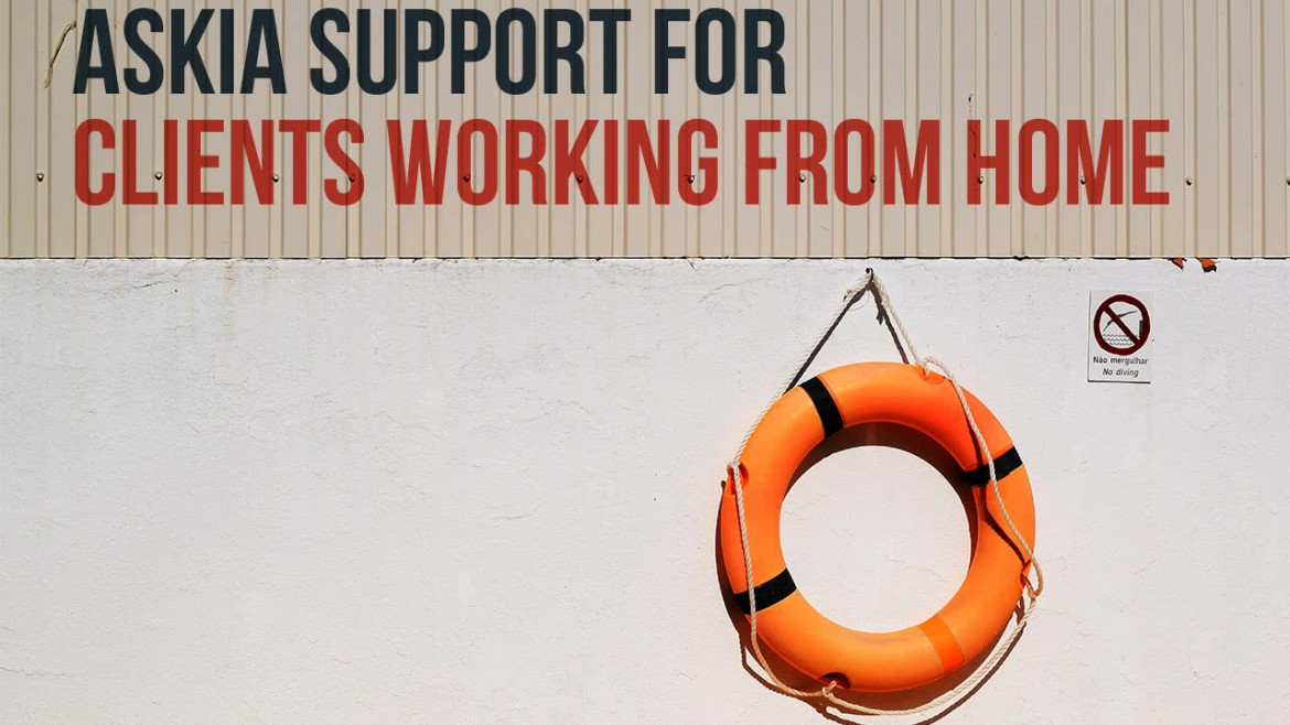 Askia Support for clients working from home