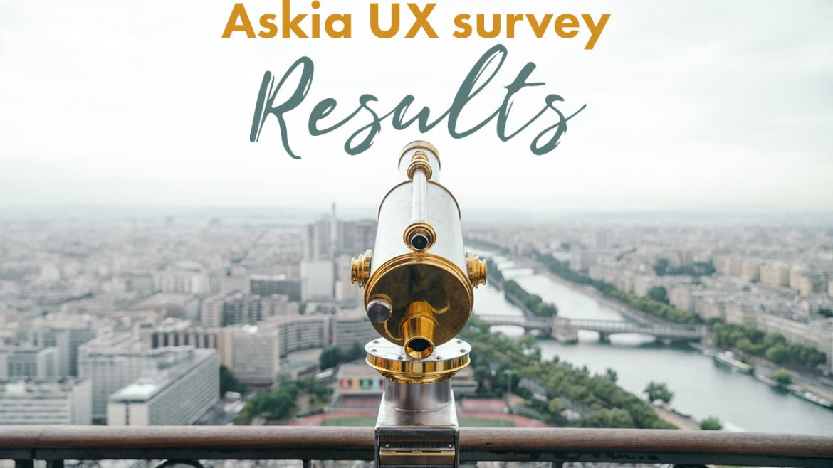 Askia UX survey results