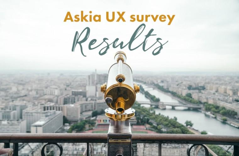 Askia UX survey results