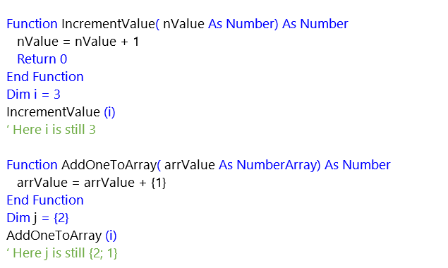 Script Value Reference screenshot